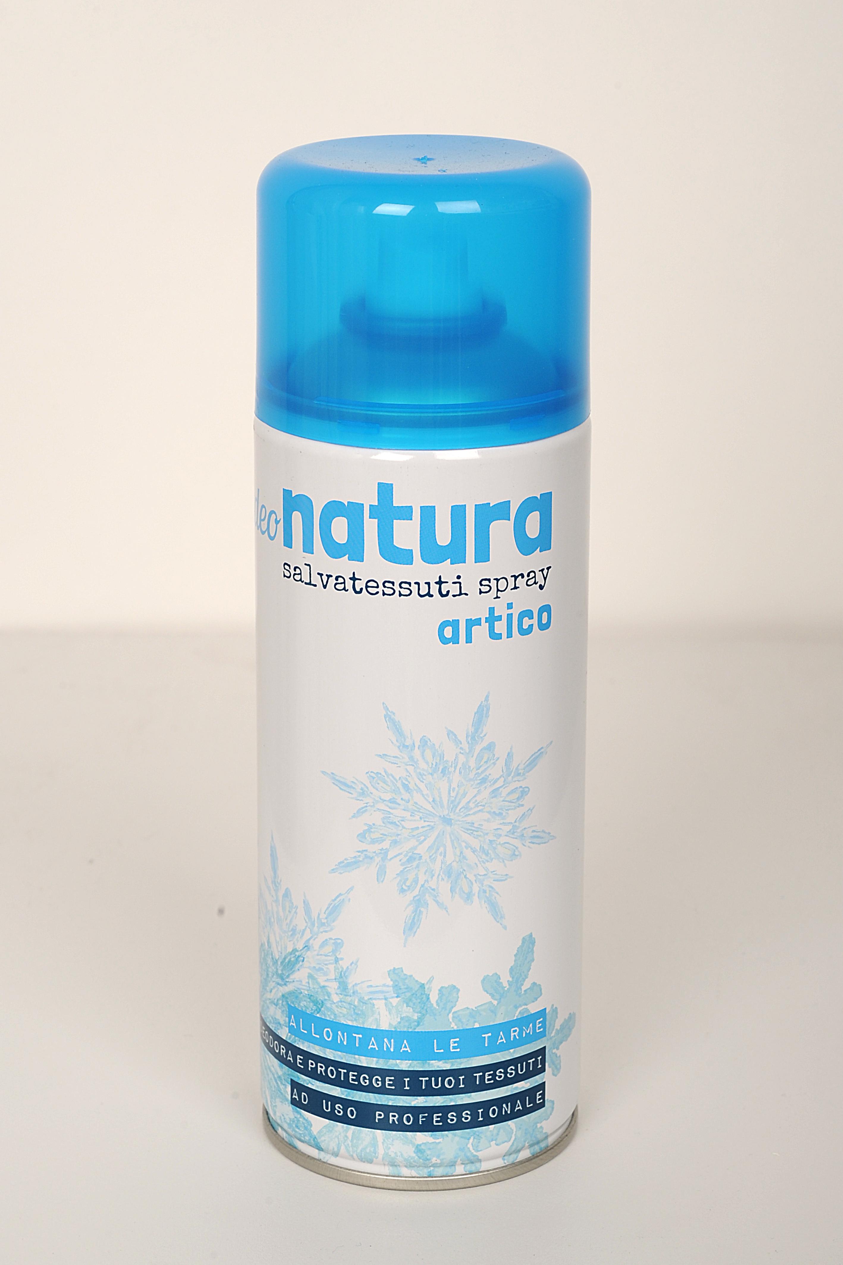 Spray artico deodorante antitarme